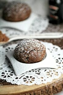 Chocolate Cherry Baileys Cookies