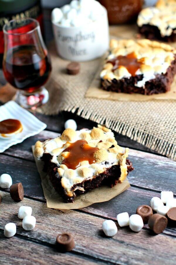 Cognac Brownies