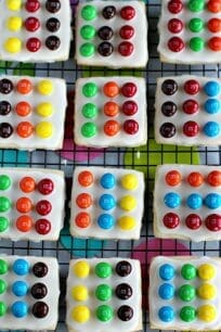 Easy M&M's® Twister Cookies