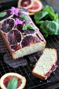 Basil Blood Orange Pound Cake 8004