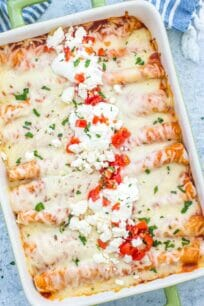Chicken Enchiladas Casserole
