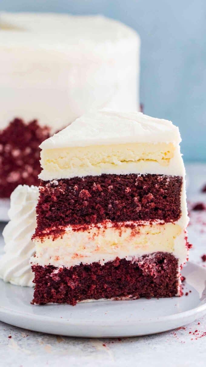 Red Velvet Cake Cheesecake Cheesecake Factory Copycat