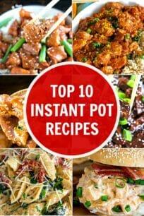 Top 10 Instant Pot recipes