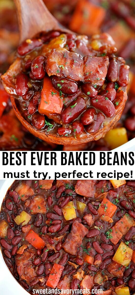 Best Baked Beans made from Scratch