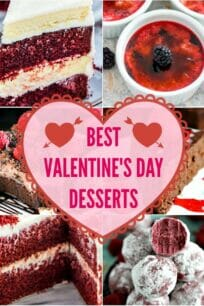 Best Valentine's Day Desserts Recipes