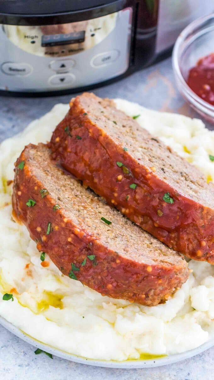 Tender Crockpot Meatloaf Recipe