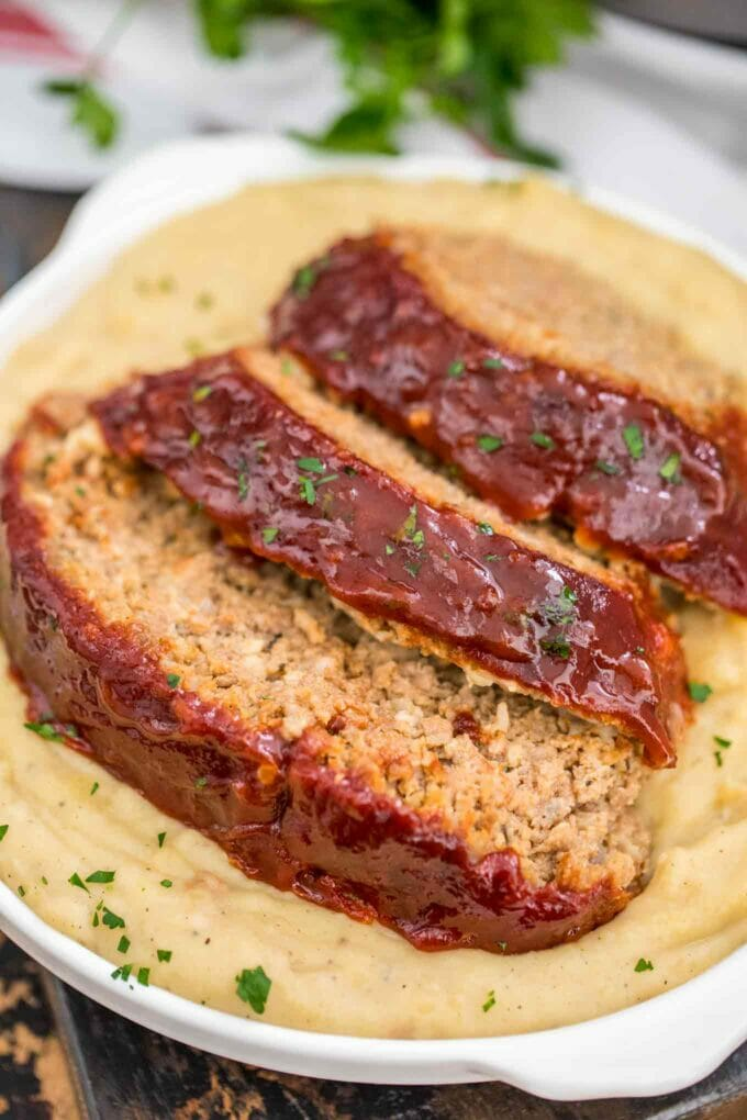 Best Instant Pot Meatloaf and Mashed Potatoes Recipe