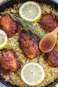 One Pan Honey Lemon Chicken