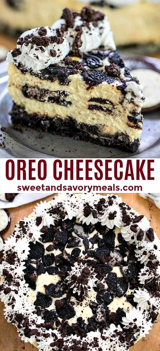 Oreo Cheesecake Recipe with Oreo Crust