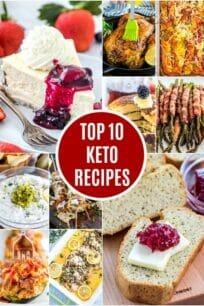 Top 10 Keto Recipes List