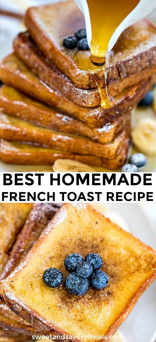 Best Classic Homemade French Toast
