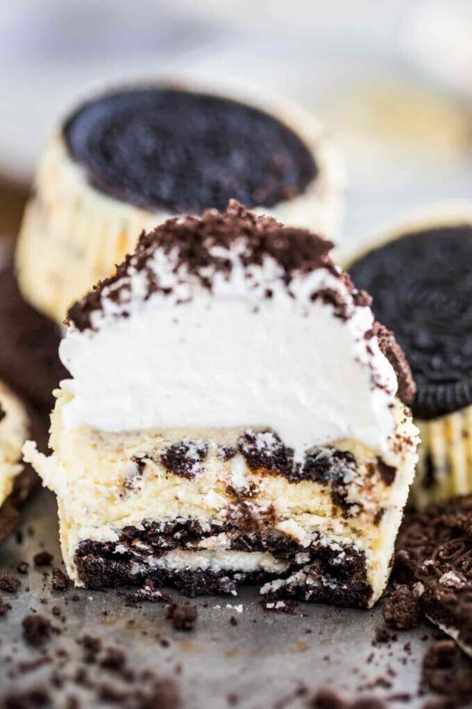 Best Mini Oreo Cheesecakes